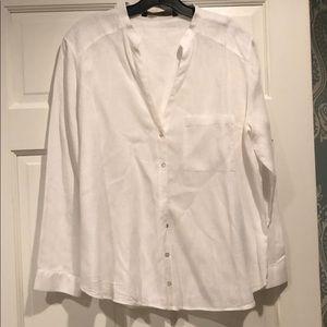 Zara Linen Button Down